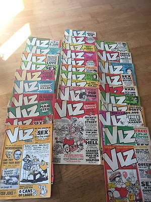 Viz - Issues 30 To 59. 30 Comics In Total - All In Good Condition