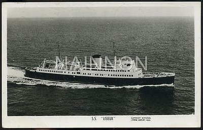 Real photo - ship postcard - SS 'LISIEUX' Cross Channel Ferry - 1958.