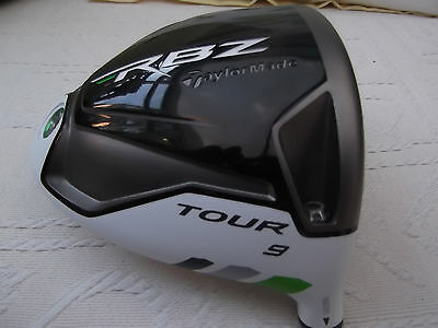 Taylormade Rocketballz Rbz Tour 9* Driver Head And Cover
