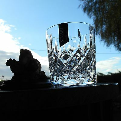 "Stuart Crystal  TEWKESBURY  3 1/4"" WHISKY 7 OZ  glass OR glasses"
