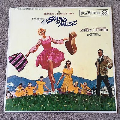 """Rodgers & Hammerstein's The Sound Of Music - Soundtrack - 12"""" Vinyl Record LP"""