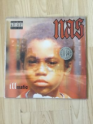 Brand New Nas Illmatic Hip Hop/Rap Music Vinyl/Lp Album New Unopened
