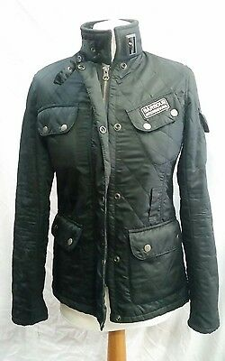 Womens Barbour International Quilted Jacket Size 8