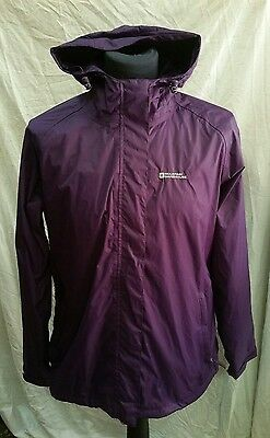 Womens Mountain Warehouse Waterproof Jacket Size 16