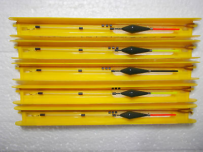 5 Hand made F1 +carp pole float rigs,Guru and all top materials used