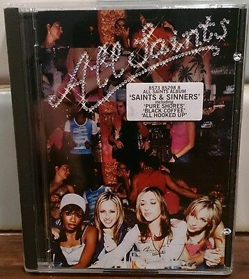 All Saints - Saints & Sinners - Album MiniDisc MD Rare Super Condition