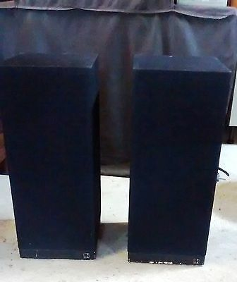 Pair of Rare KEF CONCORD III Main Stereo Speakers (Ref: SP1111)