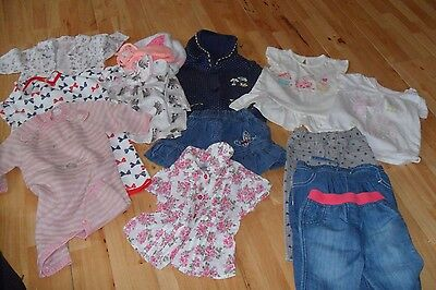 Bundle of Baby Girl Clothes age 0-9M