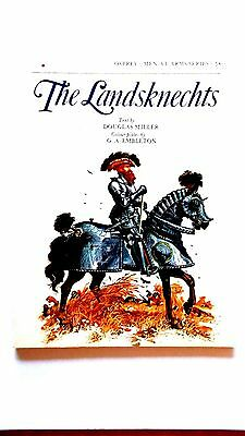 The Landsknechts by Douglas Miller. 1981 Osprey Men at Arms. Paperback, fine.