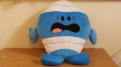 Fisher Price MR MEN Mr Bump 15 inch large soft / plush toy-excellent condition