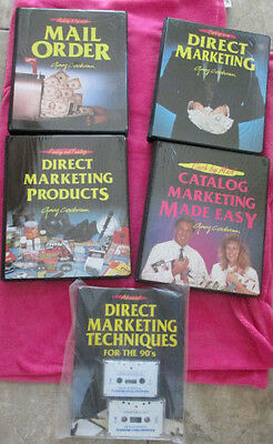 Gary Cochran Direct Marketing System Books and Cassettes NEW
