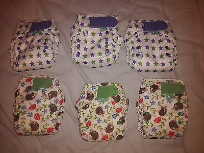Tots Bots Easy Fit V4 Reusable Nappy BRAND NEW x 6