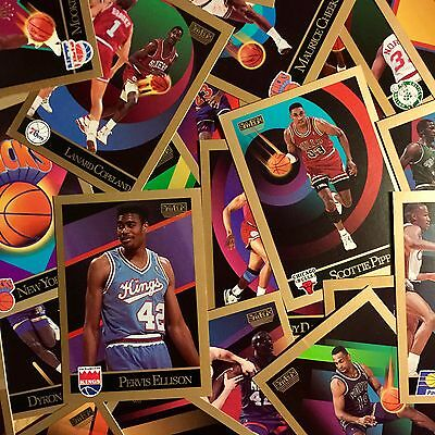 X25 Mint Condition NBA 1990 Skybox Basketball Trading Cards Rare Vintage Retro