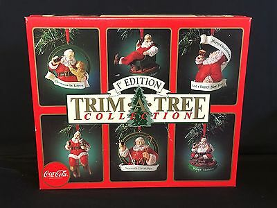 Coca Cola 1st Edition Trim-A-Tree Christmas Ornament Collectible Chronology