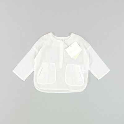 Blusa color Blanco marca Bass10 6 Meses