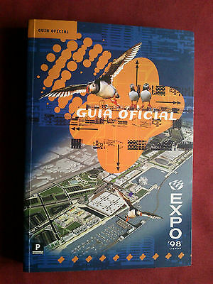 Portugal 1998 Expo 98 World Exposition Fair Official Guide Portuguese