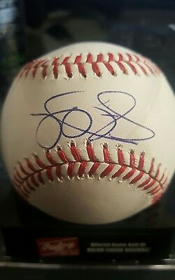 Steve Delabar Autographed Baseball - MLB Authenticated Hologram