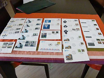 Denmark/Danish First Day Covers x 25, 1998/99 , ships, birds, Ocean, Churches