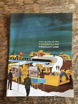 Vintage Caterpillar Guide to the Product Line Brochure Dealer Advertisement