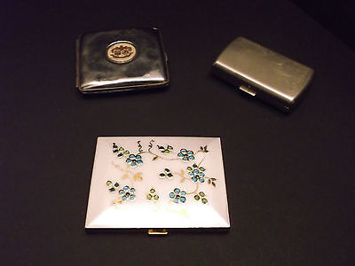 Cigarette Cases (x3) Japan, Isle of Man, Modern lot