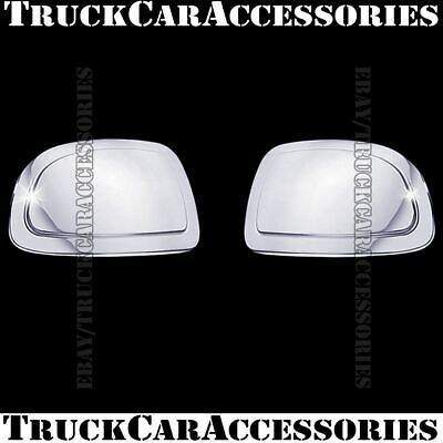 For CHEVY Suburban 2000-2003 2004 2005 2006 Chrome Mirror CAP Covers PAIR Round