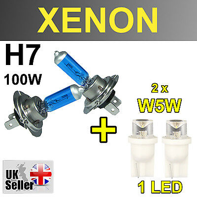 H W Xenon Super White Light Bulbs Ww Headlight Ford Kuga