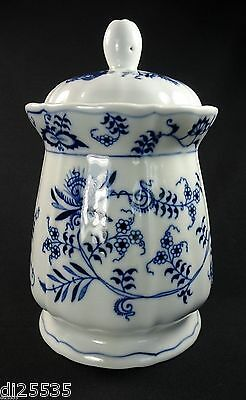 Blue Danube Candy Jar Cookie Storage Canister w/Lid Rectangle Backstamp