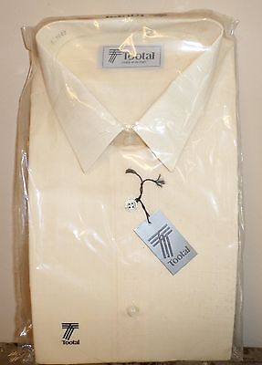 Gents Tootal  Cream Shirt