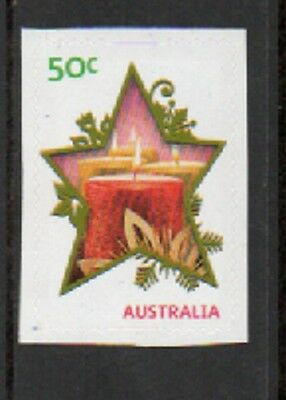 Australian Decimal Stamps: 2009 Merry Christmas - Embossed S/A  Mint