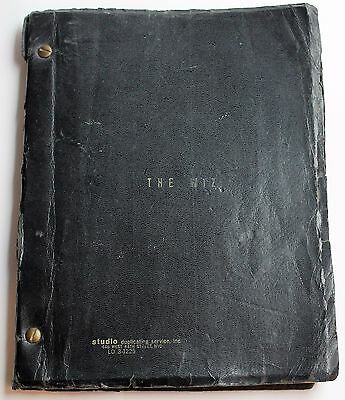 THE WIZ * 1978 Broadway Play Script adapted from The Wonderful Wizard of Oz book