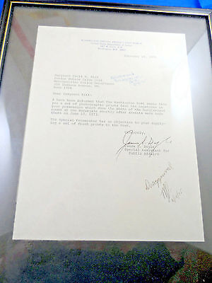 1975 Letter Watergate Washington Post To Police From Special Prosecution Force
