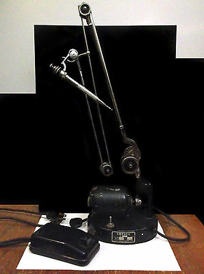 USA Emesco 90 (1 amp) 10k RPM Vintage Dental Drill w/ Accessories Pedal *VGUC