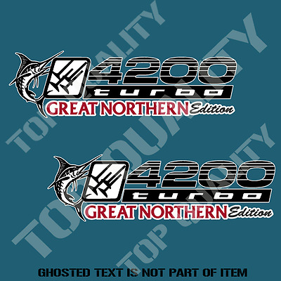4200 Turbo Great Northern Edition Decal Sticker 4X4 Awd Landcruiser Stickers