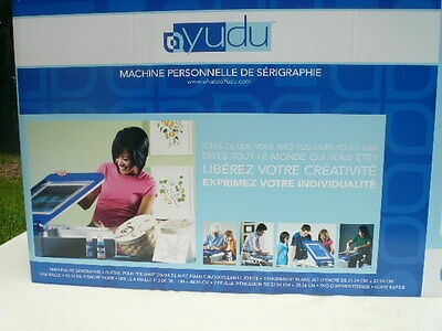 Yudu Personal Screen Printer..  Make Your Own T-Shirts.. New & Unused