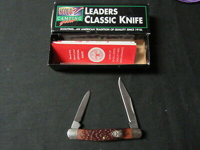 Boy Scout Leaders Classic Pocket Knife, 2 blade     c50