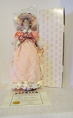Florence Maranuk  Lady Gabrielle Collection Victorian Porcelain Doll NIB
