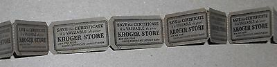 ***vintage Kroger Grocery Store Silver Certificate Coupon Ticket Lot***