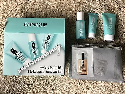 Clinique Anti-Blemish Set Cleansing gel, Clarifying lotion, Clearing treatment