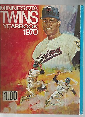 Original 1970  Minnesota TwinsYearbook -  - Ex  condition