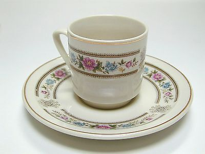 Small Cup and Saucer for coffee.