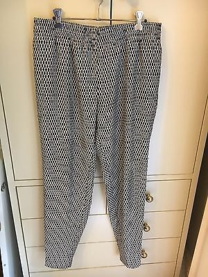 Witchery black and white pants, Women size 10