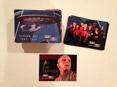 Star Trek: The Next Generation - Season 1 (Skybox, 1994) - 108 cards + insert