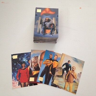Star Trek: Master Series Two (Skybox, 1994) - 90 cards + insert cards