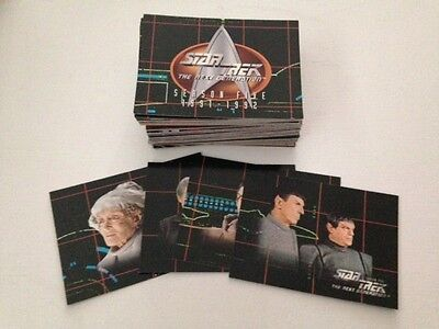Star Trek: The Next Generation - Season 5 (Skybox, 1996) - 108 cards