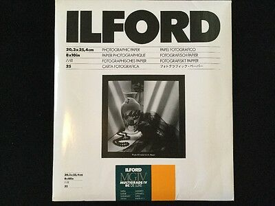 Ilford Photographic Paper 8x10in Satin