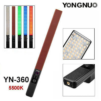 Yongnuo YN360 Pro LED Video light 5500K RGB Colorful Handheld 39.5CM ICE Stick