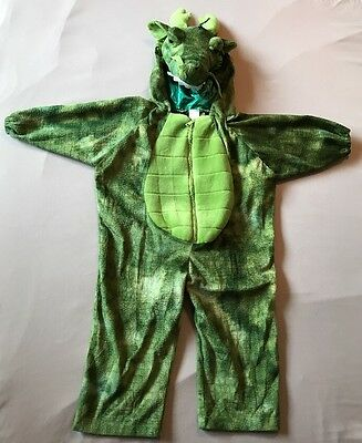 Hooden Dragon Complete Costume for Halloween, Parties and Dress Up 3T/4T (Read)