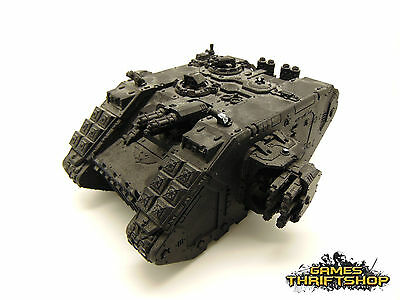 Warhammer 40k Space Marine Land Raider Painted Black