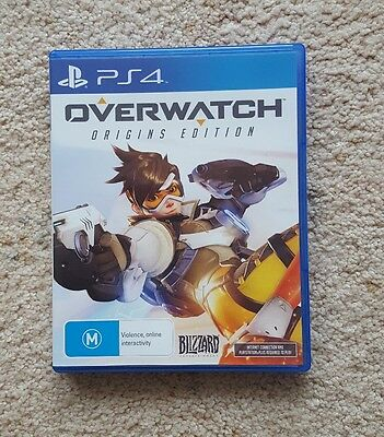 LIKE NEW Overwatch Origins Edition PS4 Game SAME DAY POSTING