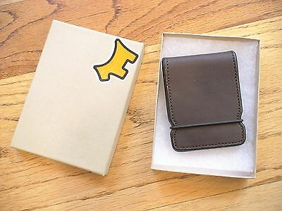 Scotty Cameron Titleist Cash Cover Wallet Leather Dark Brown New in Box PGA